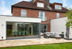 Wrap around extension exterior 01 by DHV Architects