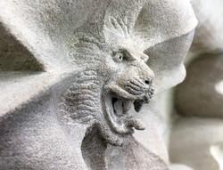 DHVA Salisbury Cathedral Lion