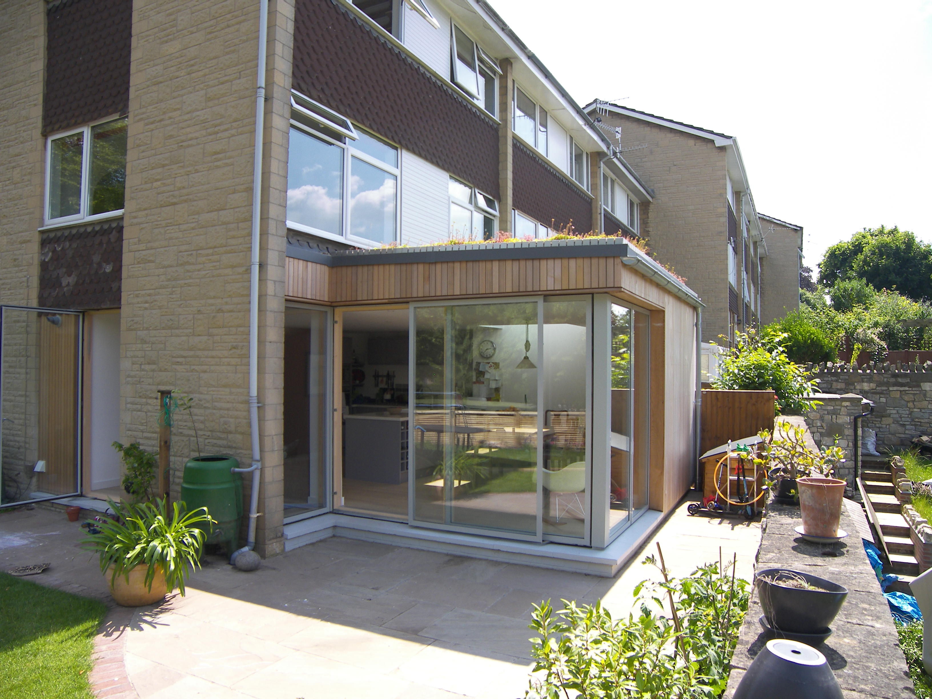 05_Eco extension to modern town house in Bristol by DHVA