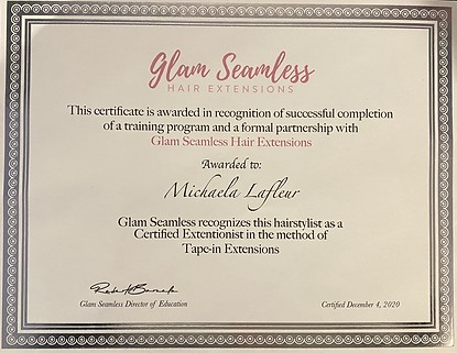 Glam Seamless Tape ins Certificate.HEIC