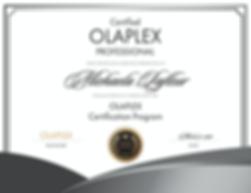 Olaplex Certificate.png