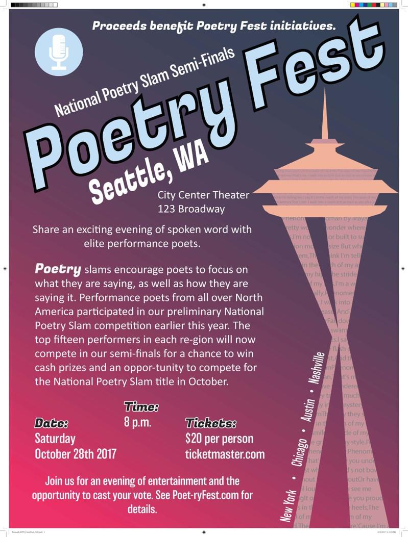 Poetry Fest: Seattle, Washington