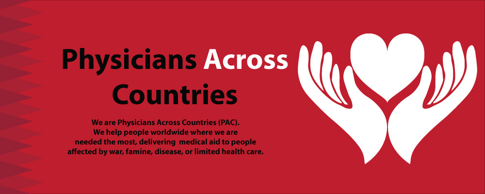 """""""Physicians Across Countries"""" Banner Display"""