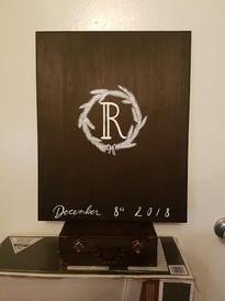 Wedding Sign In Board