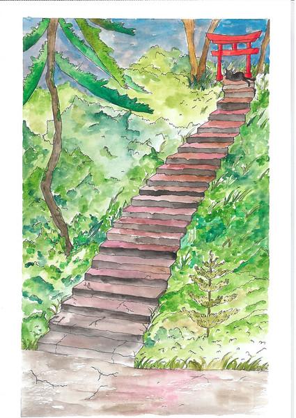 Japanese Stairway