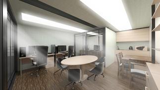 Box City Inside Office