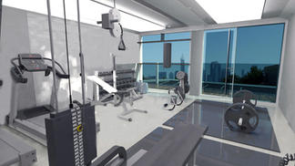 Box City Gym Inside