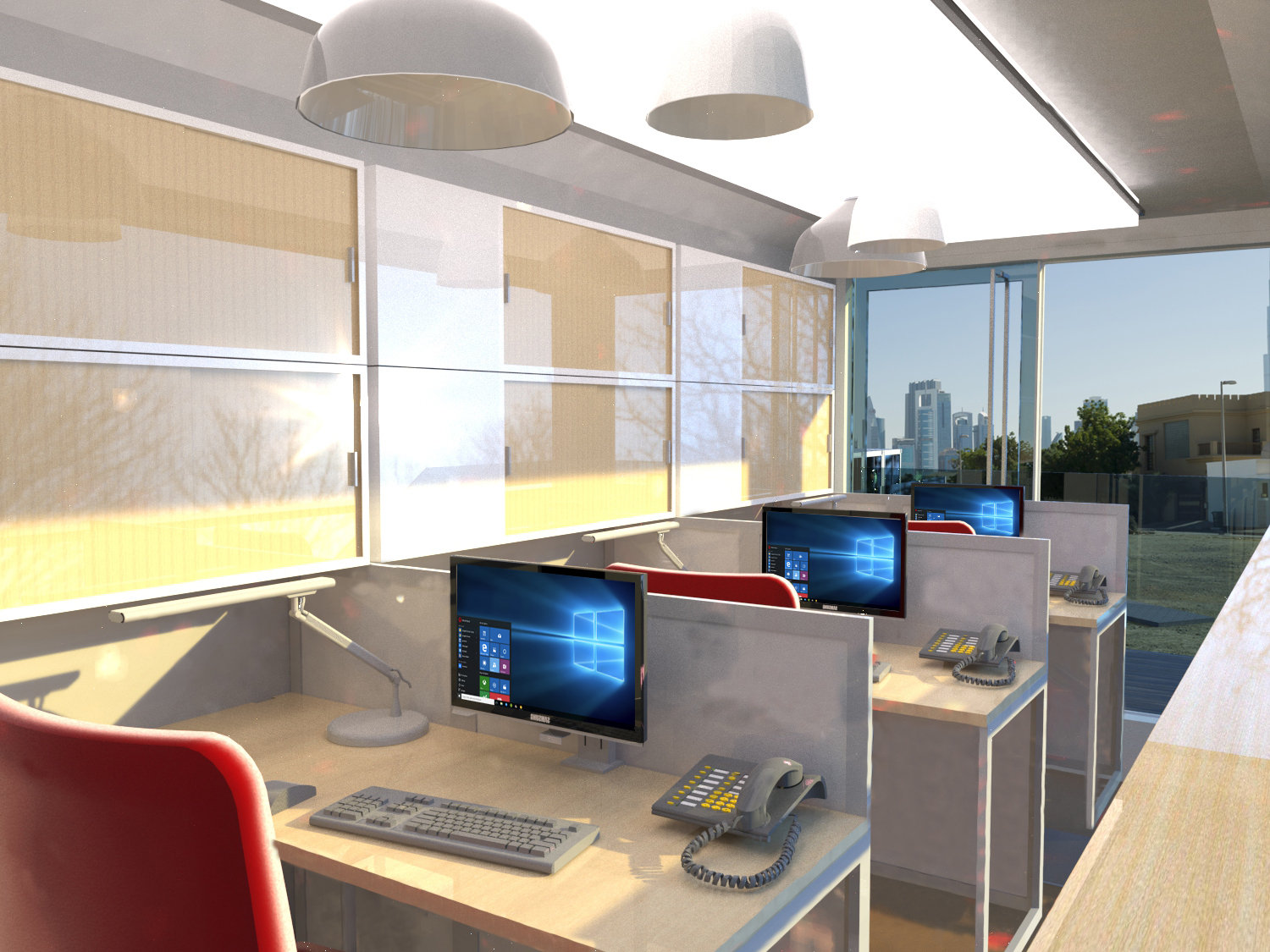 20ft Office Space
