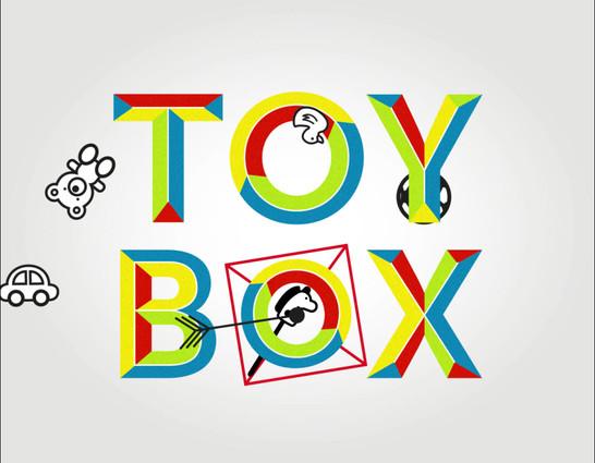 Toy Box logotipo animado