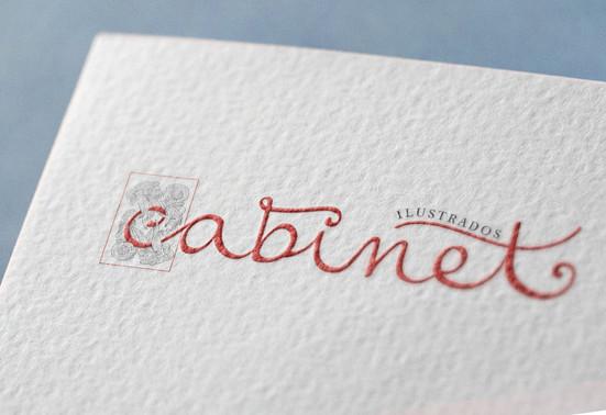 Logotipo Cabinet ilustrados
