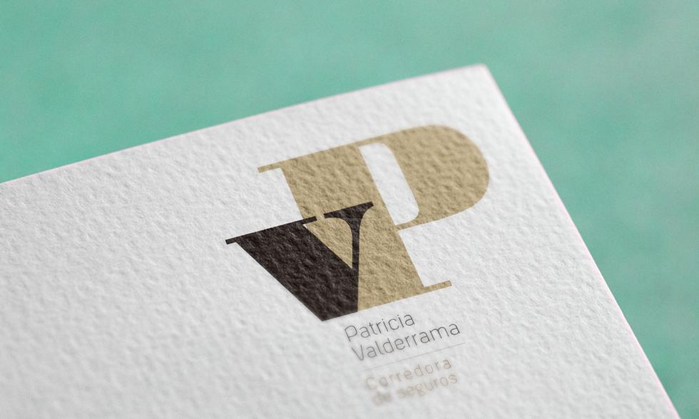 Logotipo Patricia Valderrama