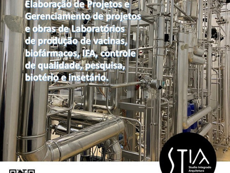 Serviços para laboratórios