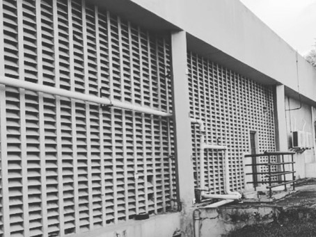Área de ensino e laboratório