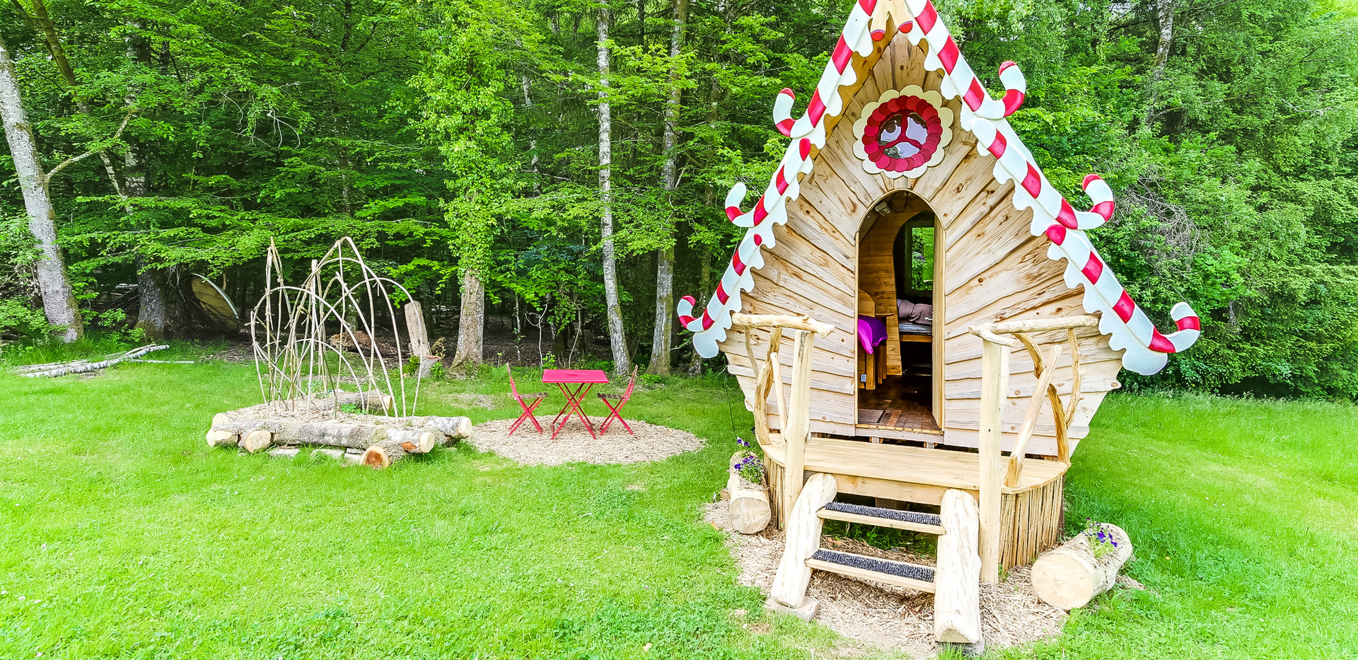 little cabin in the Vosges forest