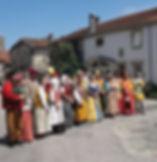 chatillon sur saone village renaissance.