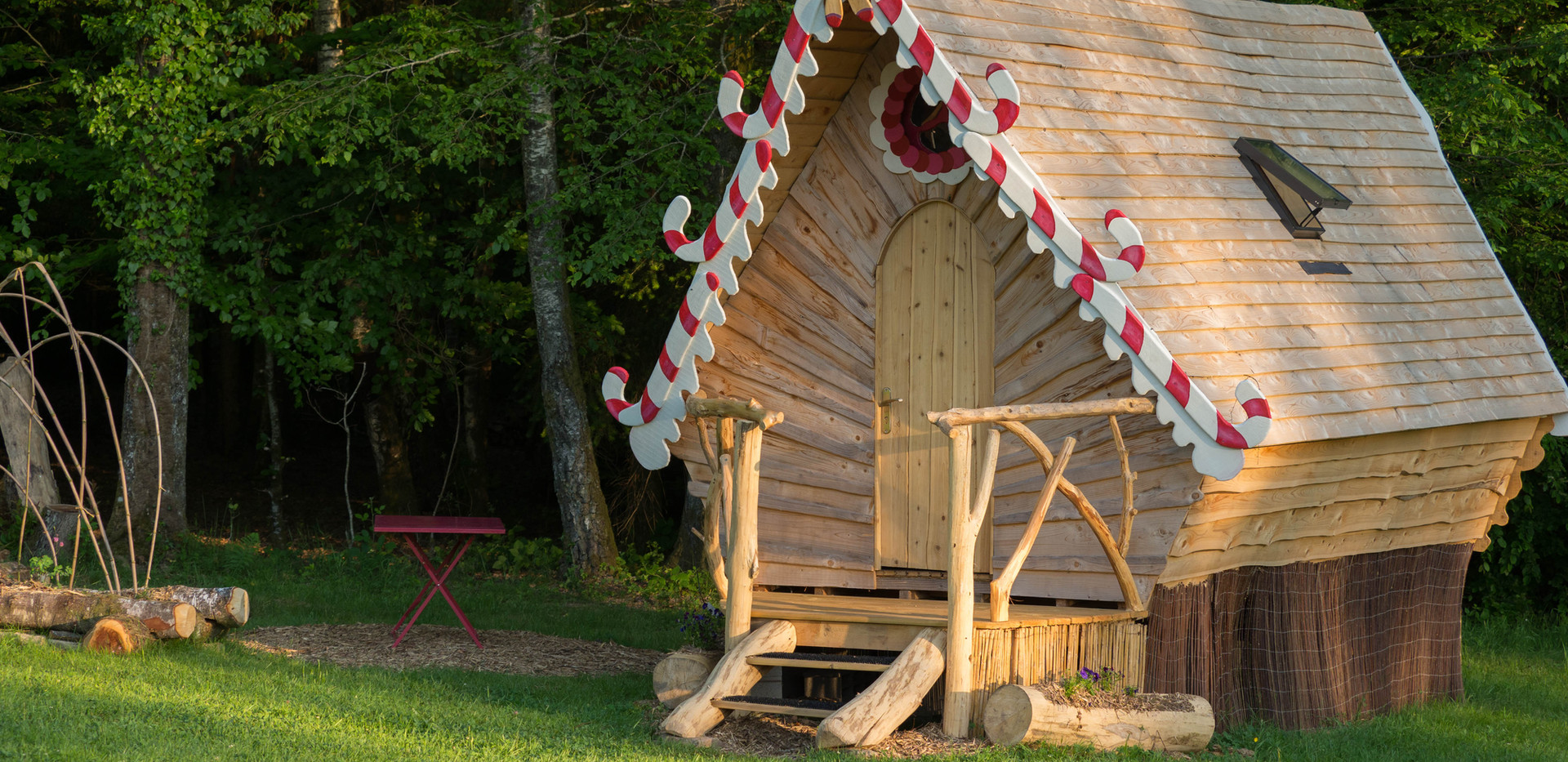 the unusual hansel and gretel hut