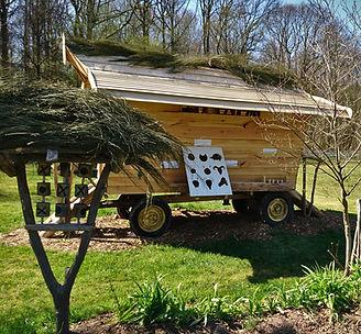 la cabane a jeu du camping la clairière