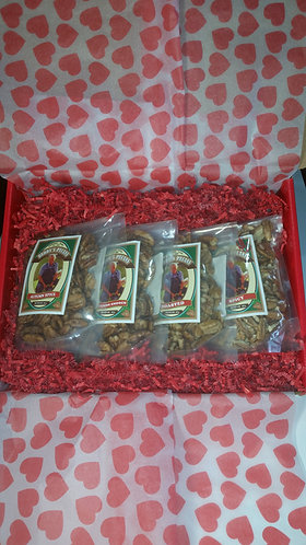 Valentine's Day Gift Box Option for 16 oz (1 lb) bags (Up to four bags/box)