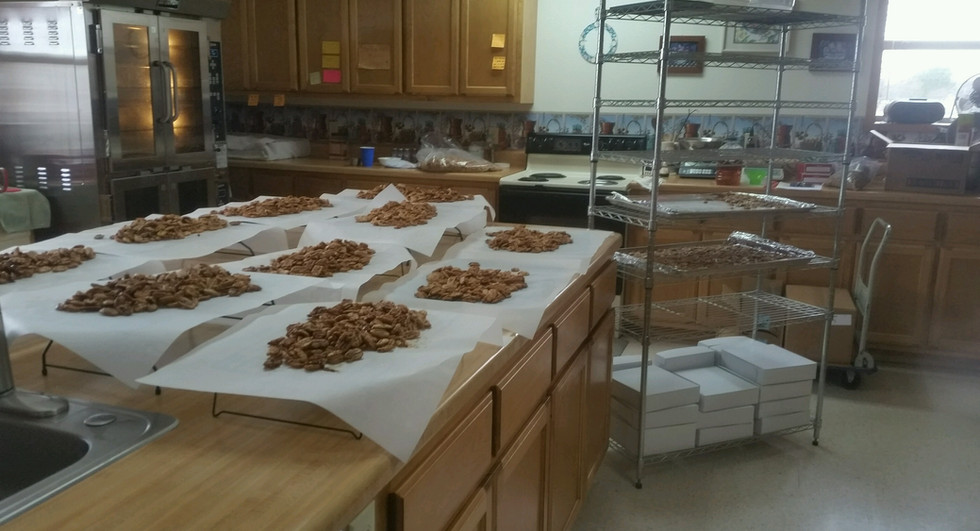 Each order is made one at a time to ensure quality and freshness.