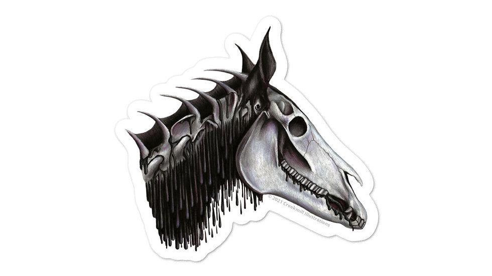 Helhest - Fantasy Horse Anatomy Sticker