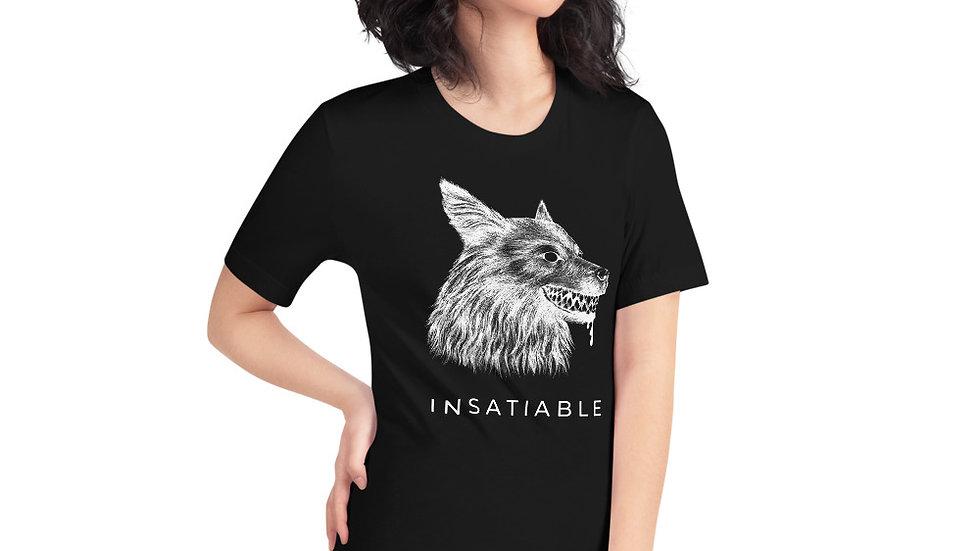 INSATIABLE Unisex T-Shirt - Black