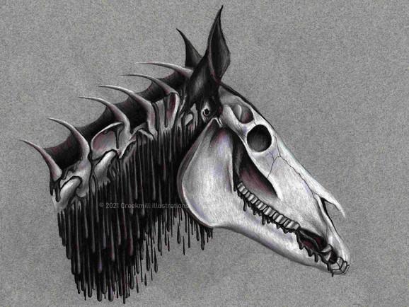 Helhest Head - Fantasy Anatomy