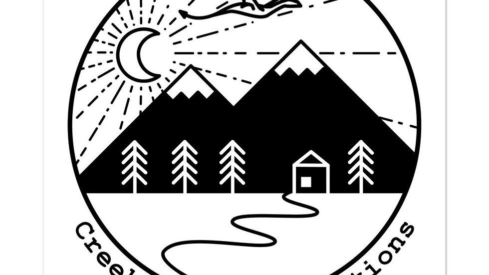 Creekmill Logo Sticker