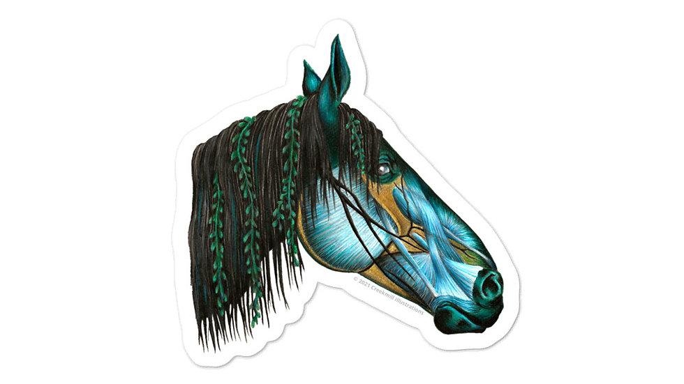 Kelpie - Fantasy Horse Anatomy Sticker