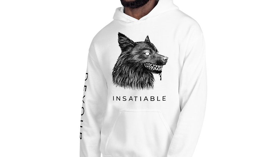 INSATIABLE Unisex Hoodie - Light