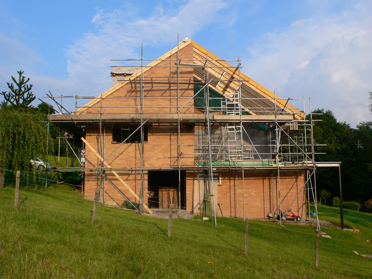 New roof & Extension