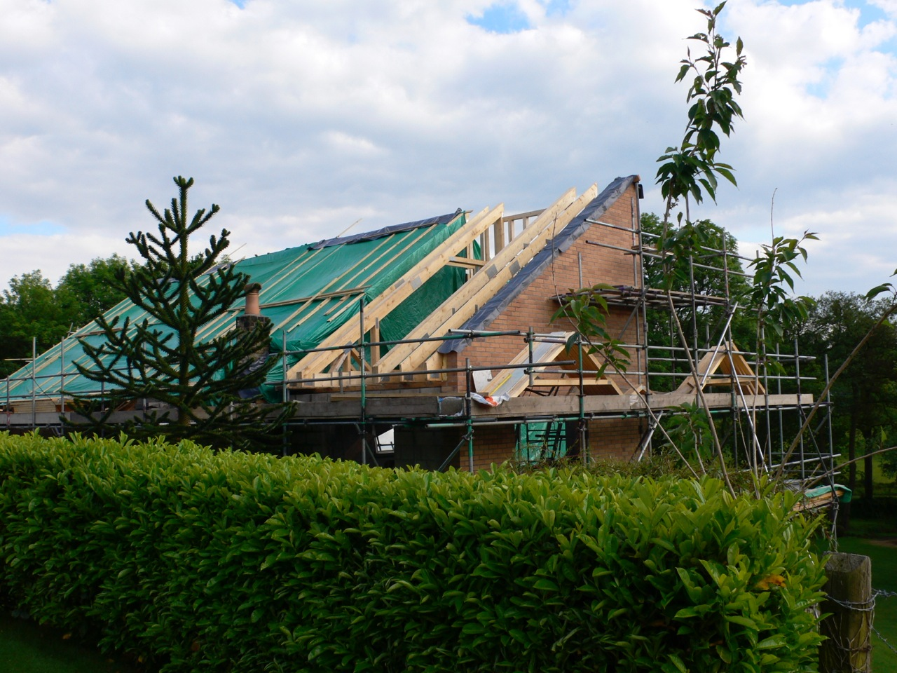 Loft Conversion: New Roof