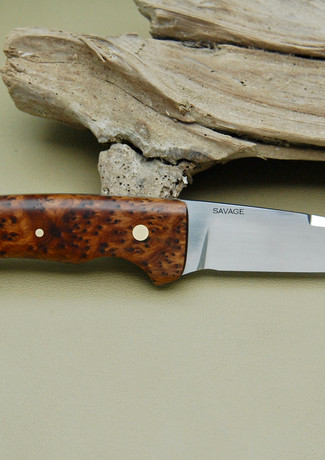 Toad Sticker with Maple Burl