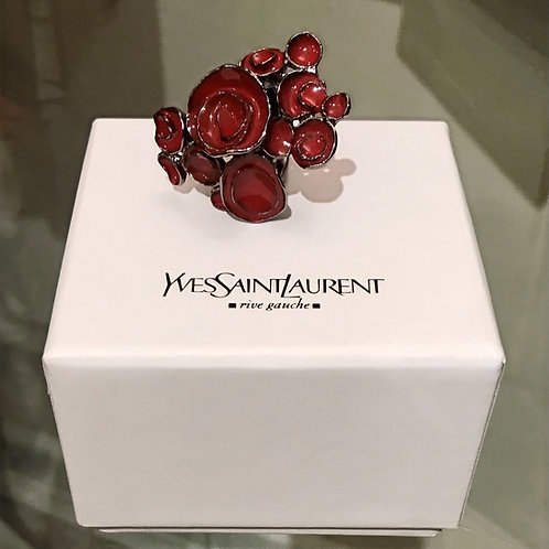 Yves Saint Laurent Arty Flower  Ring