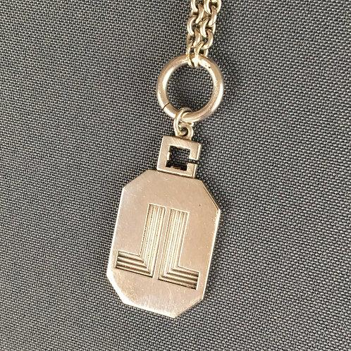 Lanvin Sterling Silver Necklace