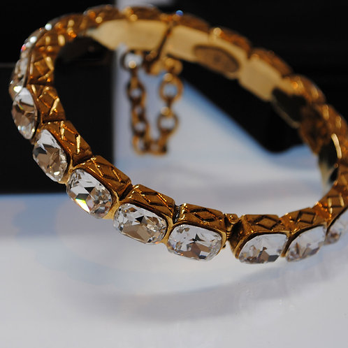 Chanel Crystal Strass Bangle