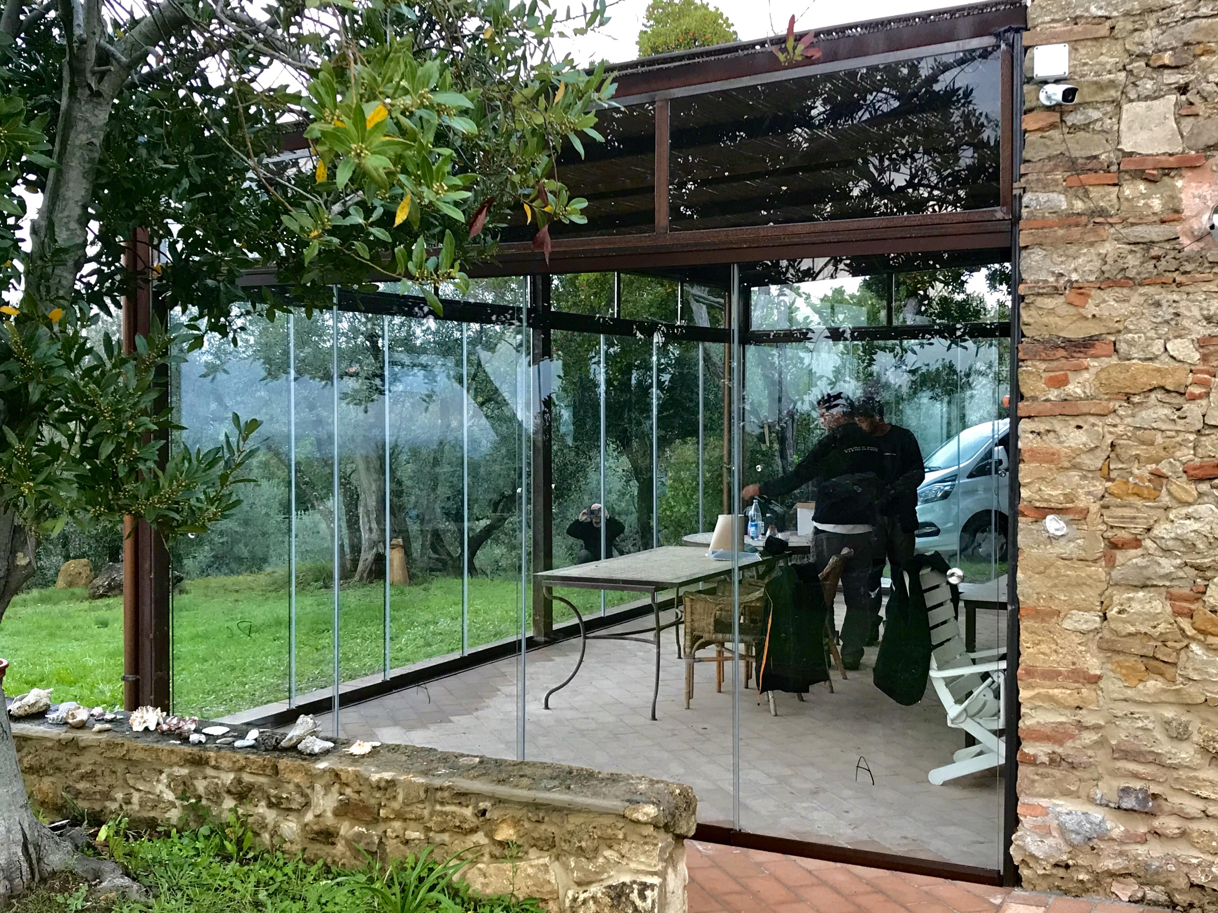 Veranda Ferro-Vetro