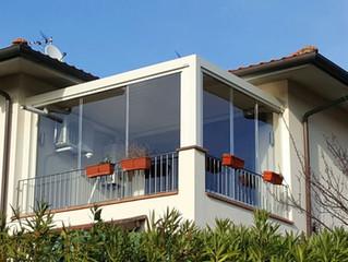 Capannoli (Pi) : serra solare su balcone