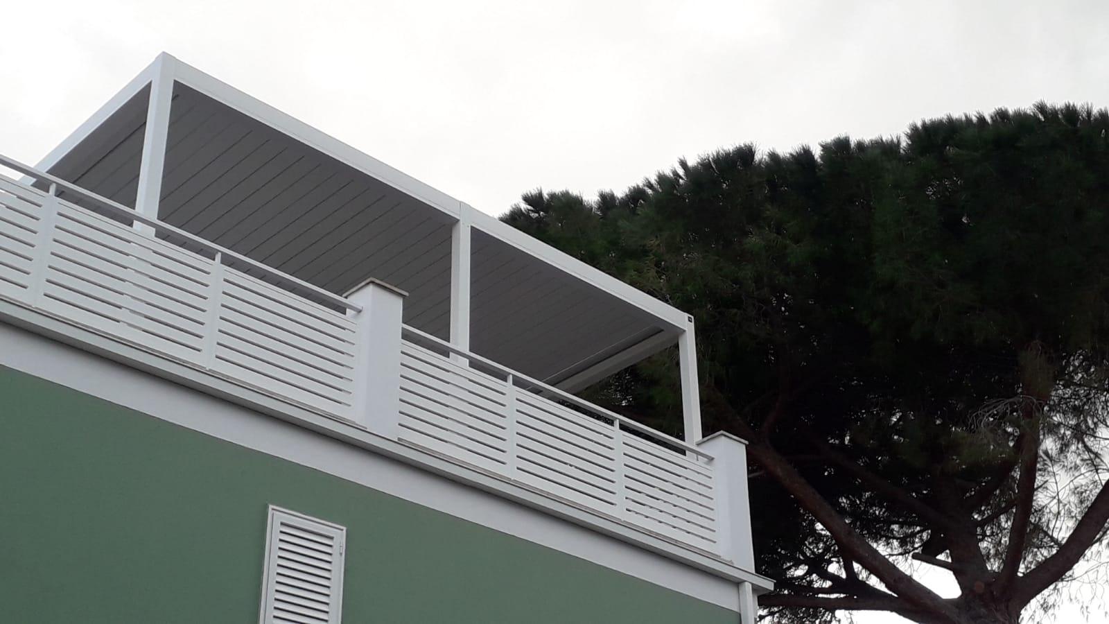 Veranda su lastrico solare