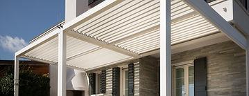 Pergolato serie Bioclimatic Linea alluminio