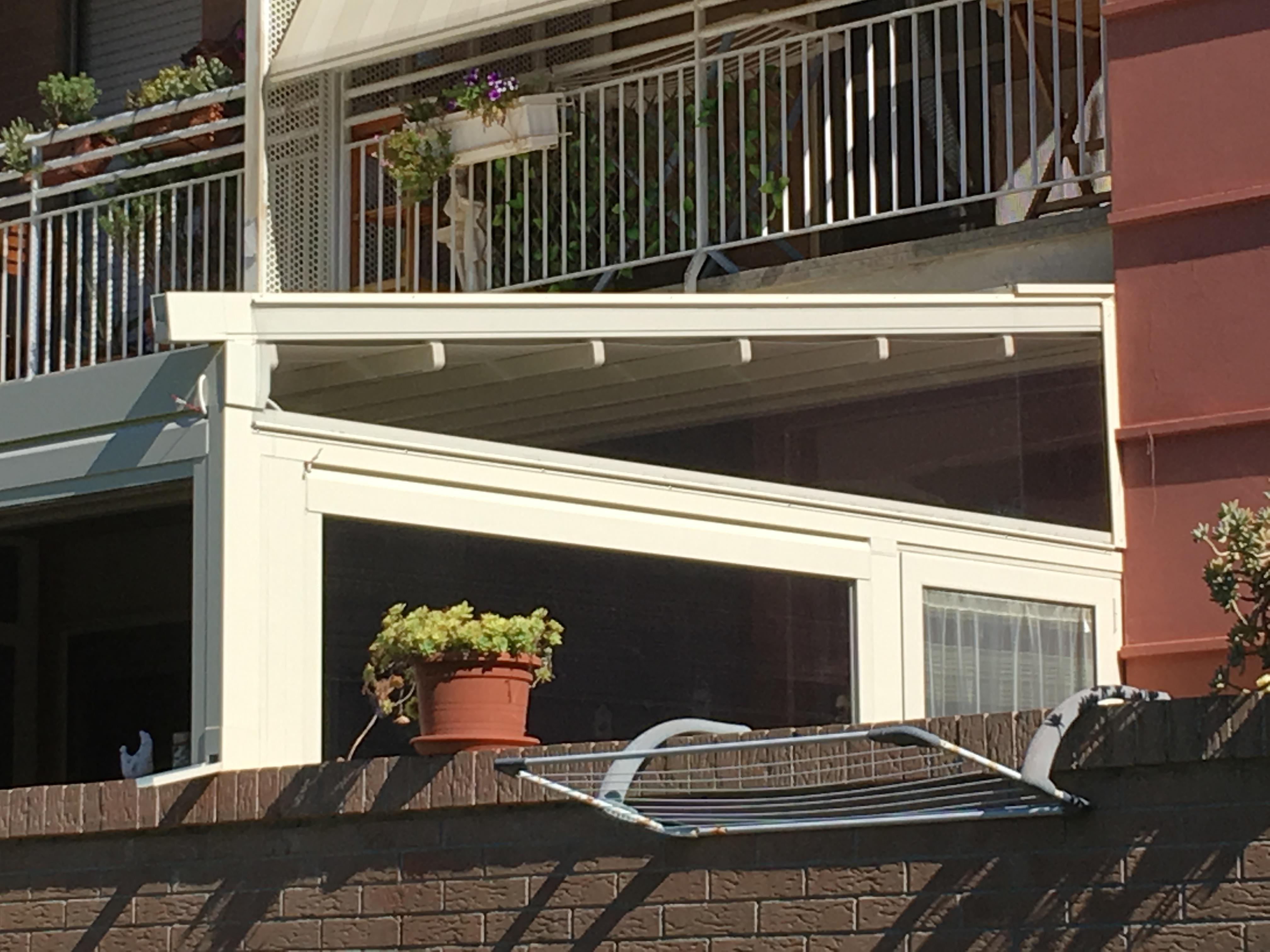 veranda apribile balcone
