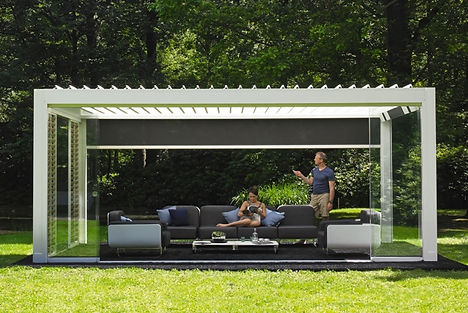 Gazebo serie Bioclimatic Linea Alluminio
