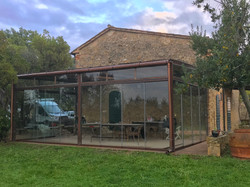 veranda-toscana-cortèn-vetro