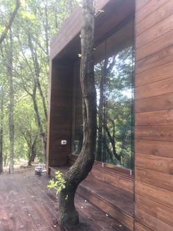 rivestimento in legno di larice