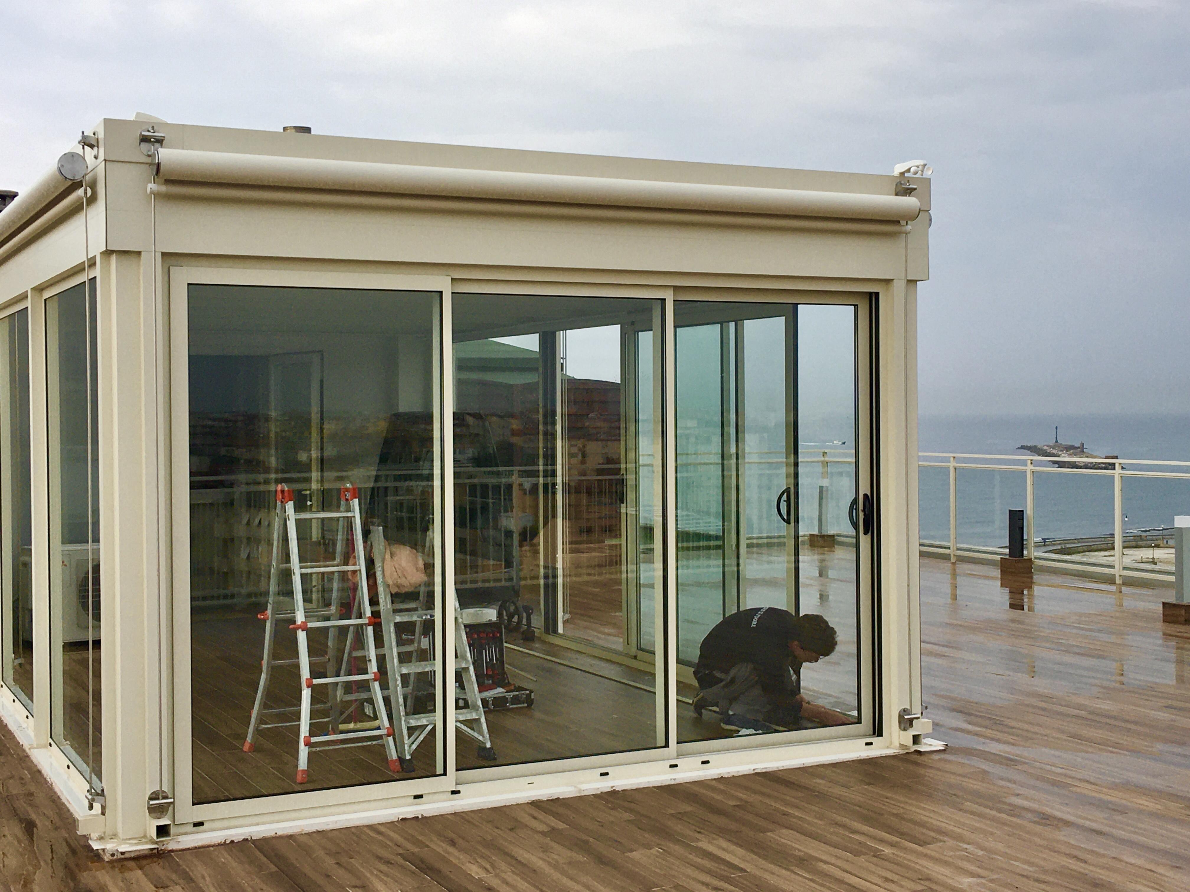 Veranda-alluminio-termica