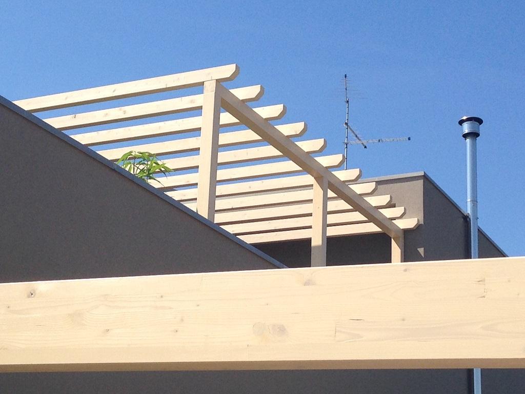 Linea pergolati legno