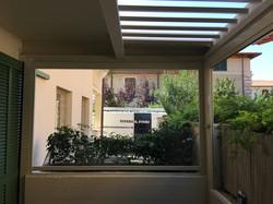 veranda bioclimatica lamelle