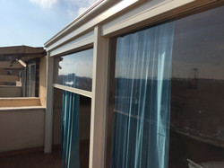 tettoia chiusa veranda