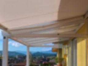 Serra solare alluminio e policarbonato