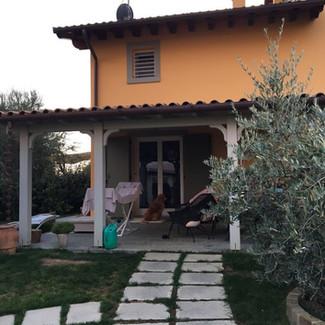 Cerreto Guidi (Fi) Ingegneria naturale: Storia di una Veranda