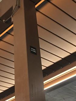 Veranda integrata legno - lamelle orient